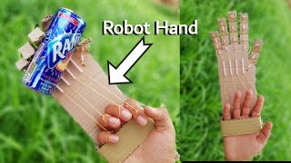 Download thumbnail for how to make a robotic hand at home out of