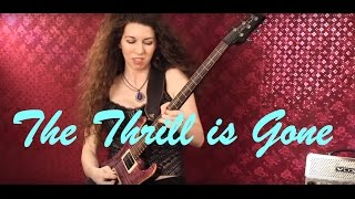 BB KING - THRILL IS GONE - Guitar Cover by VIOLET HEART