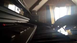 Augustana - Fire (Piano Accompaniment Cover)