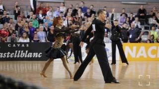 Marius-Andrei Balan - Khrystyna Moshenska | WDSF 2017 European LAT - R2 R