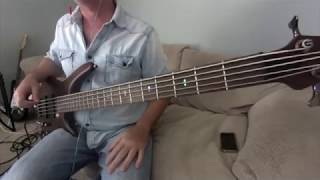 The Cars My best friend's girlfriend Bass Cover