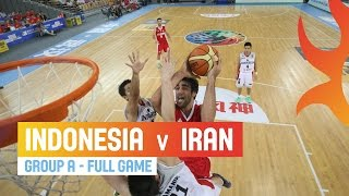 Indonesia v Iran - Full Game Group A - 2014 FIBA Asia Cup width=