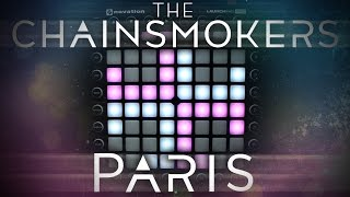 The Chainsmokers - Paris   Launchpad Pro Cover