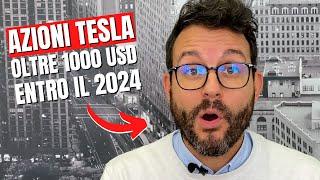 Azioni Tesla a 1.400 dollari entro il 2024: ecco perché