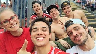 No estádio com o Ninho das Falsianes | Brothers Rocha