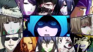 Tokyo Ghoul all Characters singing Opening song