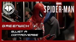Spiderman PS4 - Sujet à controverse, mission annexe Greenwich