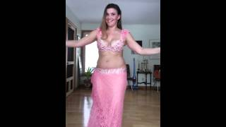 Raqset El Darabouka (Samba) belly dance by Cassandra Fox