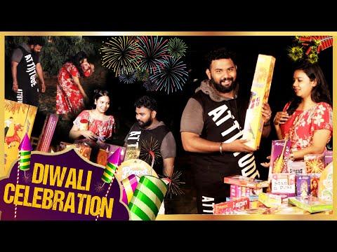 Ashiq -க்கு வெடி-னா பயம்| What's Inside Diwali Box | Shreenidhi