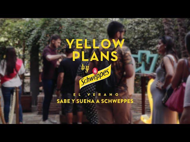 Aslándticos en Yellow Plans by Schweppes