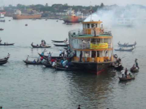 River port of Dhaka