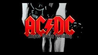 AC/DC (Angus Young) - Speed DRAWING!