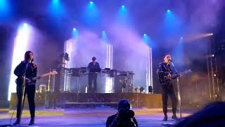 the xx - Say Something Loving (Live at Sunset Festival in Sigulda 15.08.2017)