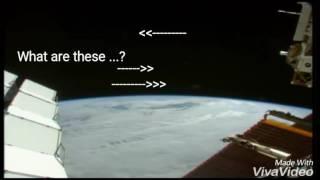 ISS live feed PLANET X/NIBIRU appear, until NASA cuts feed