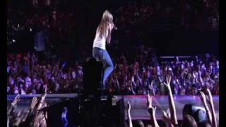 Hannah Montana\Meet Miley Cyrus - Nobody's Perfect live Best of Both Worlds Concert HQ HD