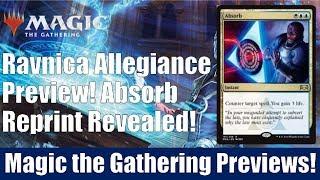 MTG Ravnica Allegiance Preview: Absorb