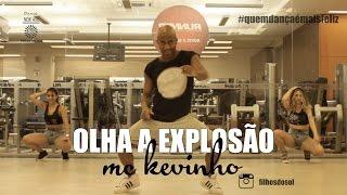 MC KEVINHO - OLHA A  EXPLOSÃO   coreografia FILHOS DO SOL