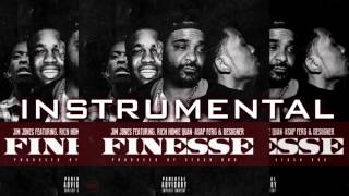 Jim Jones Finesse Instrumental ft  Rich Homie Quan, A$AP Ferg, Desiigner