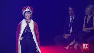 "Carmen Cusack performs ""You'll Be Back"" From HAMILTON: AN AMERICAN MUSICAL"