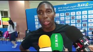 Semenya Caster réalise la meilleure performance mondiale sur 1.000m