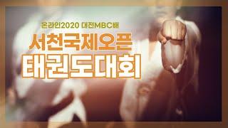 온라인 2020 대전MBC배 서천국제오픈 태권도대회 다시보기