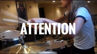 Attention by Charlie Puth Drum Cover