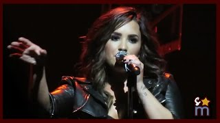 "Demi Lovato - ""Body Say"" Live at The Honda Center ""Future Now Tour"""