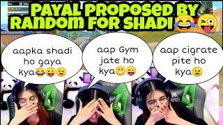 payal proposed by random for shadi 😂😜   payal meet funny random in pubg    payal funny pubg gameplay