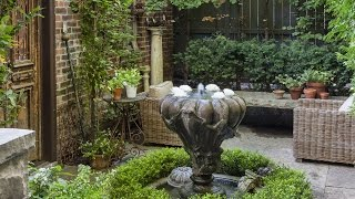 Exterior Design — Tour A Stunning Secret Garden In The City