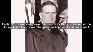 Frank D. Comerford Top  #5 Facts