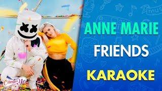 Marshmello & Anne- Marie - Friends (Karaoke) I CantoYo