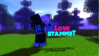 #17 New Minecraft [Love] Intro Template | Mine Imator [Download In Description]