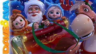 🎉 Christmas Songs for Kids | Nursery Rhymes for Babies | Christmas Time with Dave and Ava🎉