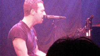 Coldplay's Chris Martin - Clocks  (Live Secret Show From The Box NYC)
