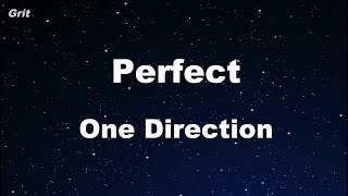 Perfect - One Direction Karaoke 【With Guide Melody】 Instrumental