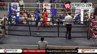 Ezequiel Huaracha vs. Gilberto Salinas WBC Torneo Amateur Cicero Stadium