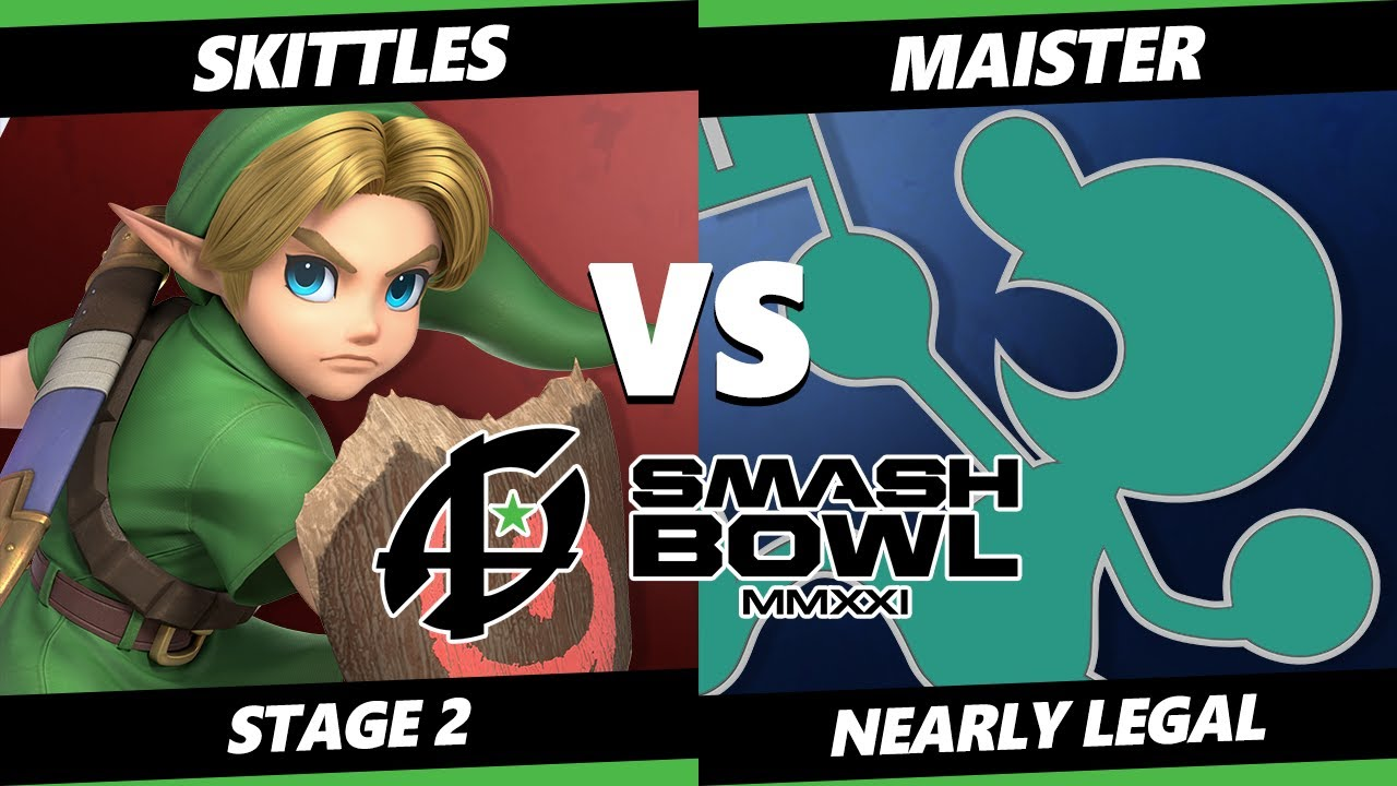 VGBootCamp - Smash Bowl MMXI Nearly Legal SSBU - Skittles (Young Link) Vs Maister (Game & Watch) Ultimate Stage 2