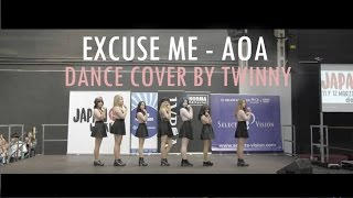 AOA (에이오에이) - Excuse Me (익스큐즈 미) Dance cover by Twinny