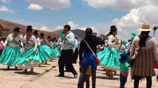 2 de febrero 2017 Vingen de la Candelaria, fiesta patronal calangachi..
