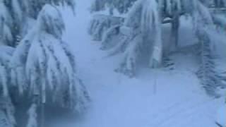 Snijeg u Puli - na Punti