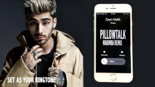 Zayn Malik Pillowtalk Marimba Remix Ringtone