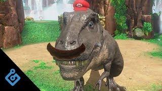 Brand new footage of Cascade Kingdom in Super Mario Odyssey