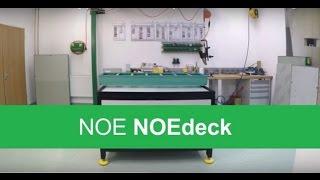 alkus - Einbau der Schalungsplatte in das Rahmensystem NOEdeck