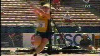 Hammer Throw Di Marco World Champs 2001