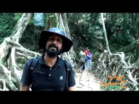 Way to Living Roots Bridge. Meghalayan [Bonus Video]