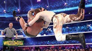 Randy Orton hits RKOs on English, Rusev and Mahal: WrestleMania 34 (WWE Network Exclusive)