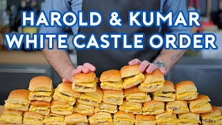 Binging with Babish: White Castle Order from Harold & Kumar