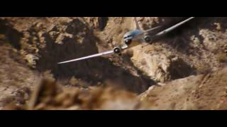 Quantum Of Solace 2008. Plane Chase Scene.
