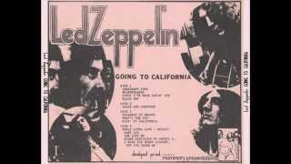 My Baby Left Me - Led Zeppelin (live Berkeley 1971-09-14)