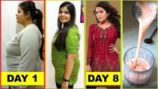 Tremendous Weight Loss In 8 Days || No Exercise || High Metabolism